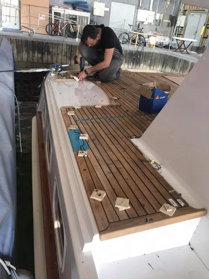 båt renovering